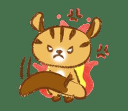Cute Squirrel-Chipmunk~Jojo sticker #8590423