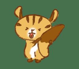 Cute Squirrel-Chipmunk~Jojo sticker #8590424