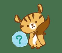 Cute Squirrel-Chipmunk~Jojo sticker #8590425