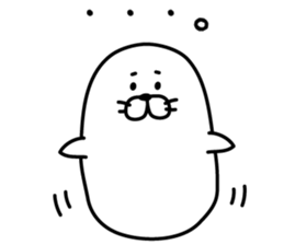 Seal which lazes! sticker #8600550