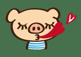 Gana Pig sticker #8600779