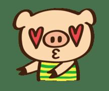Gana Pig sticker #8600780