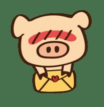 Gana Pig sticker #8600781