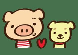 Gana Pig sticker #8600782