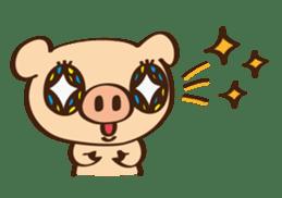 Gana Pig sticker #8600784