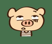 Gana Pig sticker #8600787