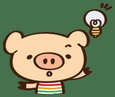Gana Pig sticker #8600791