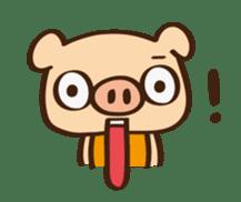 Gana Pig sticker #8600794