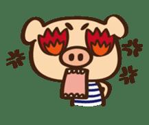 Gana Pig sticker #8600796