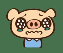 Gana Pig sticker #8600798