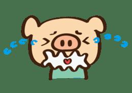Gana Pig sticker #8600799