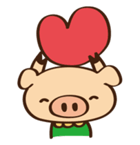Gana Pig sticker #8600802