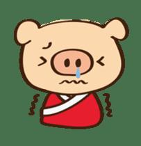 Gana Pig sticker #8600808