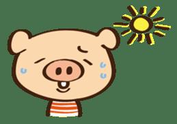 Gana Pig sticker #8600810