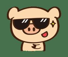 Gana Pig sticker #8600811