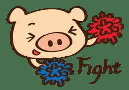 Gana Pig sticker #8600813