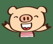 Gana Pig sticker #8600814
