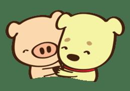Gana Pig sticker #8600815