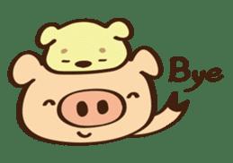 Gana Pig sticker #8600817