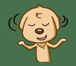 I like Golden Retriever!! sticker #8601287