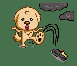 I like Golden Retriever!! sticker #8601292