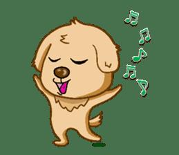 I like Golden Retriever!! sticker #8601296