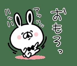 Kansai dialect Rabbit USATAN sticker #8607142