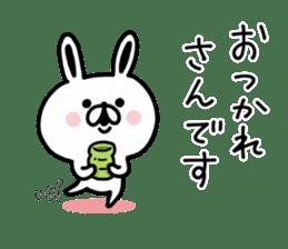 Kansai dialect Rabbit USATAN sticker #8607161