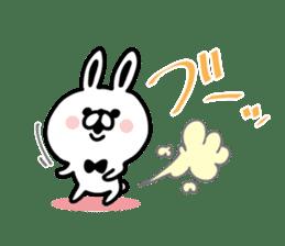 Kansai dialect Rabbit USATAN sticker #8607163