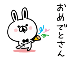 Kansai dialect Rabbit USATAN sticker #8607167