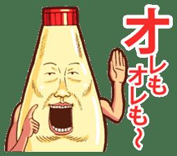 Mayonnaise Man 8 sticker #8607983