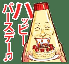 Mayonnaise Man 8 sticker #8608000