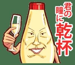 Mayonnaise Man 8 sticker #8608007