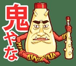 Mayonnaise Man 8 sticker #8608011