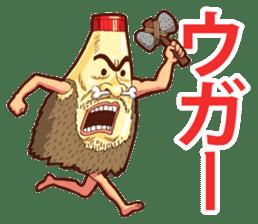 Mayonnaise Man 8 sticker #8608012