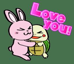 Rabbits & Turtles sticker #8617985