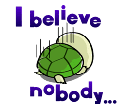 Rabbits & Turtles sticker #8617989