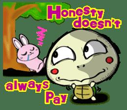 Rabbits & Turtles sticker #8617990