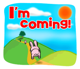 Rabbits & Turtles sticker #8618000