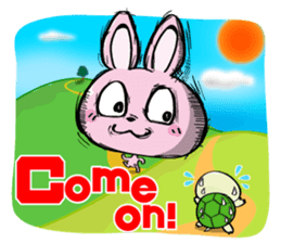 Rabbits & Turtles sticker #8618012