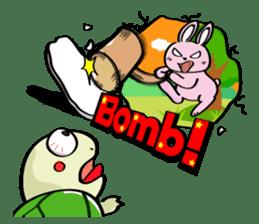 Rabbits & Turtles sticker #8618014