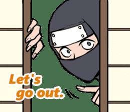 ninja mood sticker #8619620