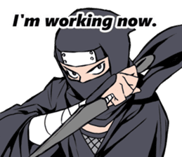 ninja mood sticker #8619637