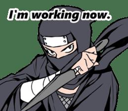 ninja mood sticker #8619637