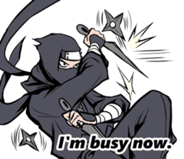 ninja mood sticker #8619638