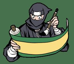 ninja mood sticker #8619643