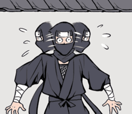 ninja mood sticker #8619649