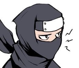 ninja mood sticker #8619653