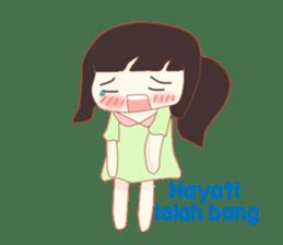 Hayati Diary sticker #8620635