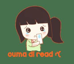 Hayati Diary sticker #8620644